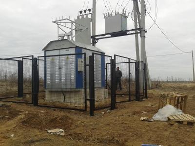 Линия электроснабжения с.т. Сычики